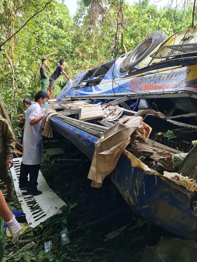 Hiện trường vụ tai nạn thảm khốc khiến 5 người chết, 35 người bị thương - ảnh 3