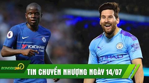 TIN CHUYỂN NHƯỢNG 147 Man City vung tiền mua Messi hình ảnh