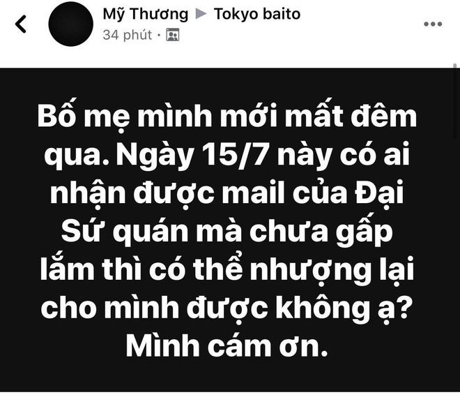 Ba mẹ bị điện giật tử vong ở  Việt Nam, con gái khóc cạn nước mắt bên Nhật - ảnh 2