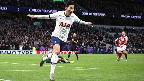 Son Heung-min giành giải bàn thắng đẹp nhất mùa Premier League 2019/20