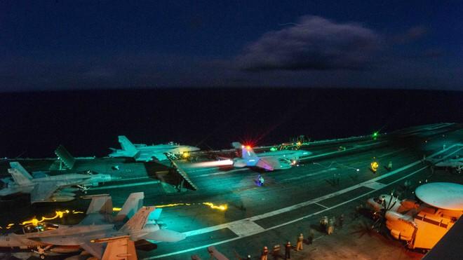 Hải quân Mỹ thao diễn rầm rộ ở Biển Đông và vùng lân cận - ảnh 3