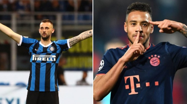 Bayern & Inter could enter negotiations for a swap deal between Corentin Tolisso & Marcelo Brozović - Bóng Đá