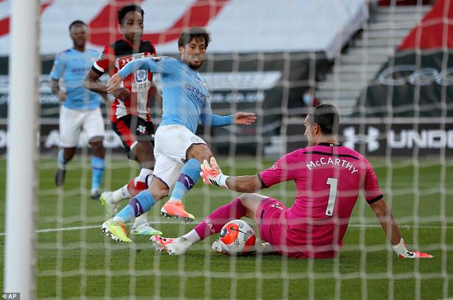Video highlight trận Southampton - Man City: Siêu phẩm định đoạt, địa chấn khó tin - 2