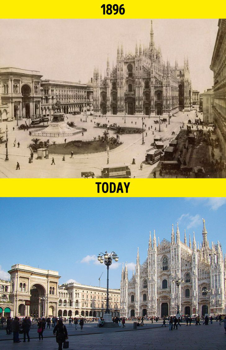 Loạt ảnh xưa và nay cho thấy các địa danh nổi tiếng thế giới đã thay đổi như thế nào trong vòng 1 thế kỷ qua - Ảnh 15.