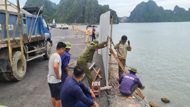 Nhà thầu có trách nhiệm trong vụ ô tô lao xuống biển Hạ Long, 4 người tử vong - ảnh 1