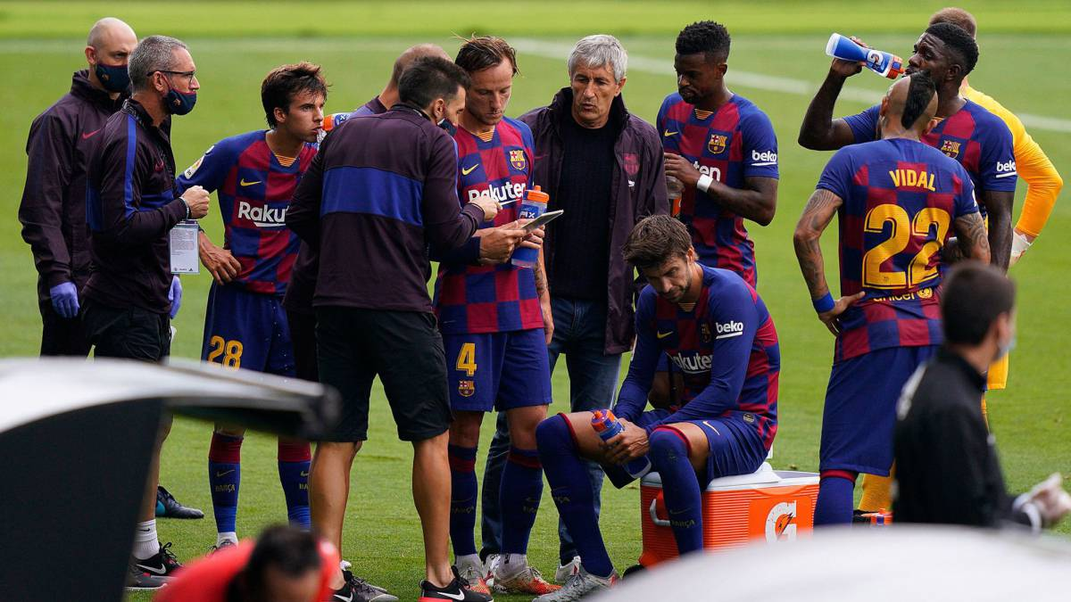 Barcelona looking to sell Dembélé and Umtiti in a complicated operation - Bóng Đá