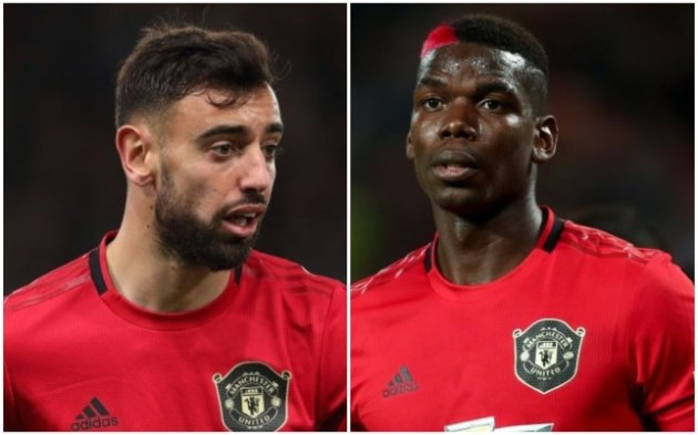 Paul Pogba says Manchester United's attack with Bruno Fernandes is 'beautiful' - Bóng Đá