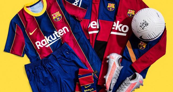 Bong da, Tin tuc bong da, Áo đấu mới của Barcelona giống Crystal Palace, Barca, Barcelona, áo đấu Barca, áo đấu Crystal Palace, bóng đá Tây Ban Nha, La Liga, BXH La Liga