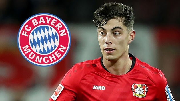 Bayern will not make a move for Kai Havertz this summer - Bóng Đá