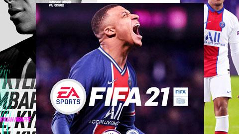 Vừa lên bìa game FIFA , Mbappe gặp ngay xui xẻo