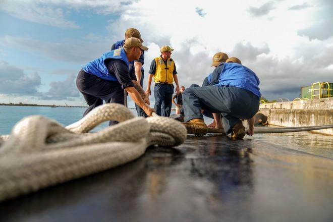 Hải quân Mỹ thao diễn rầm rộ ở Biển Đông và vùng lân cận - ảnh 8