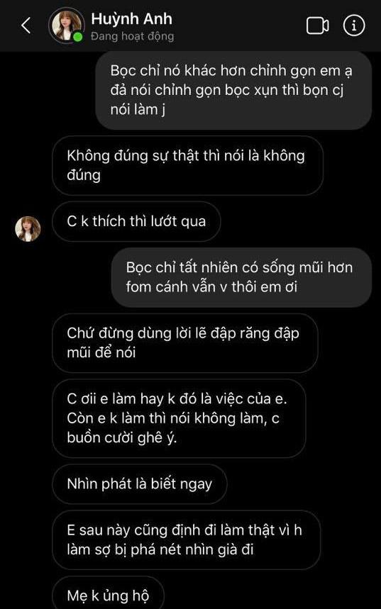 Huỳnh Anh đáp trả anti-fan về nghi vấn dao kéo: Mình thích thì làm đẹp cho mình thôi, nhưng phải qua 25 tuổi mới đi phẫu thuật thẩm mỹ - Ảnh 7.