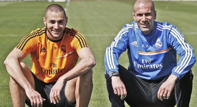 Benzema là hiện thân của triều đại Zidane