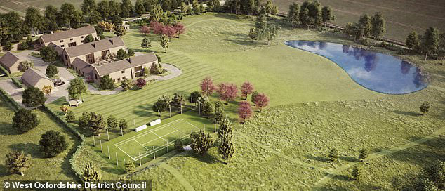 Gia đình cựu danh thủ David Beckham bị hàng xóm phản ứng dữ dội vì quyết định xây hồ nước xấu xí và quái dị trong dinh thự trị giá 180 tỷ - Ảnh 3.