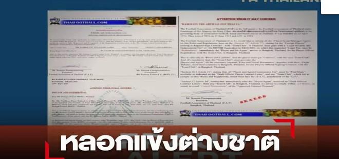 Bóng đá Thái Lan truy tìm nhóm người giả danh liên đoàn lừa tiền cầu thủ  - ảnh 1