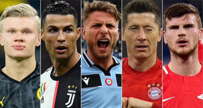 """Ronaldo còn cửa đua """"Giày vàng châu Âu"""" cực nóng bỏng hay không? - 1"""