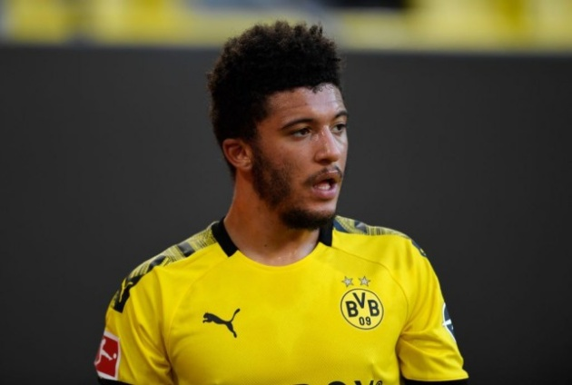 Borussia Dortmund have rejected a €98 million bid from Manchester United for Jadon Sancho - Bóng Đá